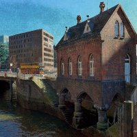 Hamburg, Fleetschlösschen :: Nina Yudicheva
