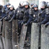 забастовка транспортников Парижа :: Alexey Romanenko