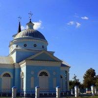 Сельская церковь Св. Варвары. Год постройки: 1823. Харьковская обл. :: Валентина ツ ღ✿ღ