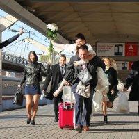 Ура! Уезжаем в свадебное путешествие! :: Ирина Бруй