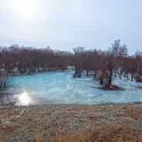 Наледь на реке Сарма :: Анатолий Иргл