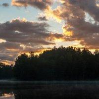 озеро начинает парить :: Владислав Попов