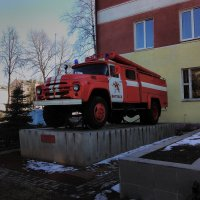 Пожарная машина :: Александр Витебский