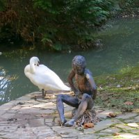 Мальчик с лебедем :: Вера Щукина