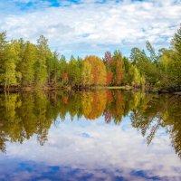 осенняя река... :: Сергей