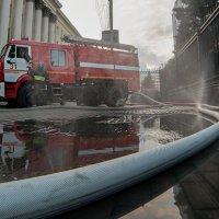 Пожар в Минобороны :: Mikhail Khorev