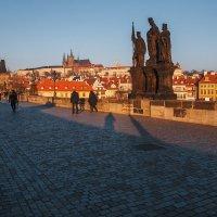 Рассвет в Праге :: Алексей Морозов