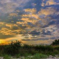 закат в деревне :: Марат Макс