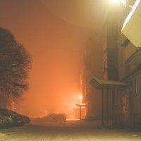Январской мглой окутан двор :: Дмитрий Костоусов