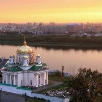 Вид на вечерний город. :: Александр Назаров