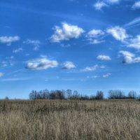 Небо и земля :: Милешкин Владимир Алексеевич