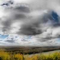 Дорисованная фотография облачного неба :: Сергей Тагиров
