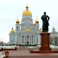 Кафедральный собор святого праведного воина Феодора Ушакова в Саранске :: Денис Кораблёв
