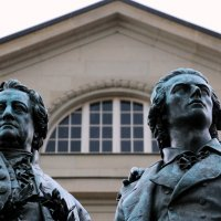 памятник Гёте и Шиллеру :: Olga