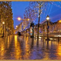 Акварельный дождь :: Лидия (naum.lidiya)