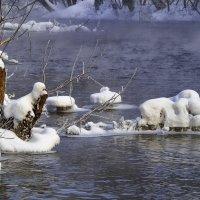 Была снежная зима, ушла зима!!! Закон природы. :: Владимир Максимов
