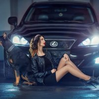 "Фотопроект ""Doberman"" :: Александра Гилета"