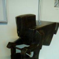 """Скульптура """"Бог солнца"""" из музея современного искуства """"ЭРАРТА"""". :: Светлана Калмыкова"""