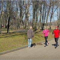 В весеннем парке. :: Роланд Дубровский