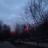 Городской закат :: Mary Коллар