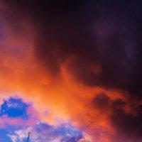 небо апреля :: Ёжик в тумане