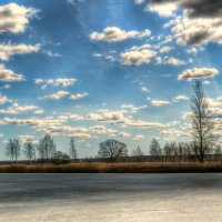 Солнце скрылось в облаках :: Милешкин Владимир Алексеевич