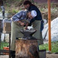 На Фестивале кузнецов. :: Владимир Батурин