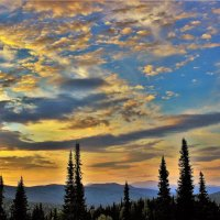 Небо над Алатау :: Сергей Чиняев
