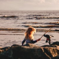 На рыбалку - в море)))) :: Любовь Погодина