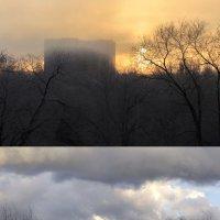 2-3 Фото с воздушной перспективой (дымом, туманом, дождём)... :: Александр Мингалев