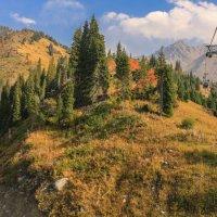 горные вершины вблизи Алматы осенью 2015 :: Марат Макс
