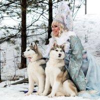 Царевна -Зима :: Оксана Сафонова
