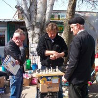 Уличные шахматы :: Владимир Боровков