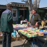 На базаре, пора покупать семена. :: Владимир Боровков