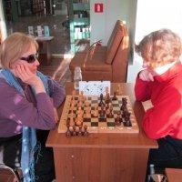 Игра в шахматы :: Дмитрий Никитин