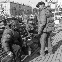 Без ПМЖ. :: Евгений Голубев