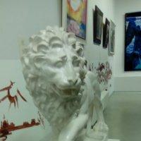 Скульптура льва из музея современного искусства ЭРАРТА. :: Светлана Калмыкова