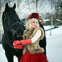 Морозная ягодка_1 :: Оксана Сафонова