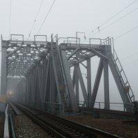 Выплыл поезд из тумана... :: Юрий Новичков