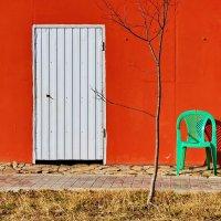 Красная стена. :: Andrey Nemo