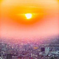 Sunset in Bangkok. :: Илья В.
