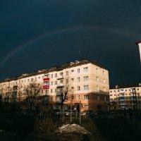 Апрельская радуга :: Pavel Rakhimberdiev
