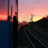 Железнодорожное утро :: Алексей Белик