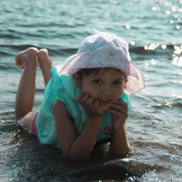 Кира на пляже :: Инесса Тетерина