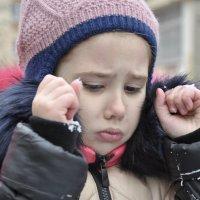 обиженная девочка :: Анна Смирнова