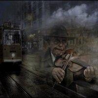 «Взгляд музыканта задумчиво-грустный ...» :: vitalsi Зайцев