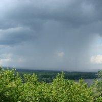 Дождевое облако :: Сергей Тагиров