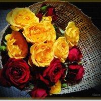 Рисую акварелью розы :: Лидия (naum.lidiya)