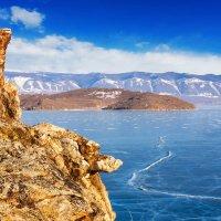 Ледяной панцирь Байкала :: Анатолий Иргл