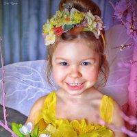 Цветочная фея Машенька! :: Юлия Романенко